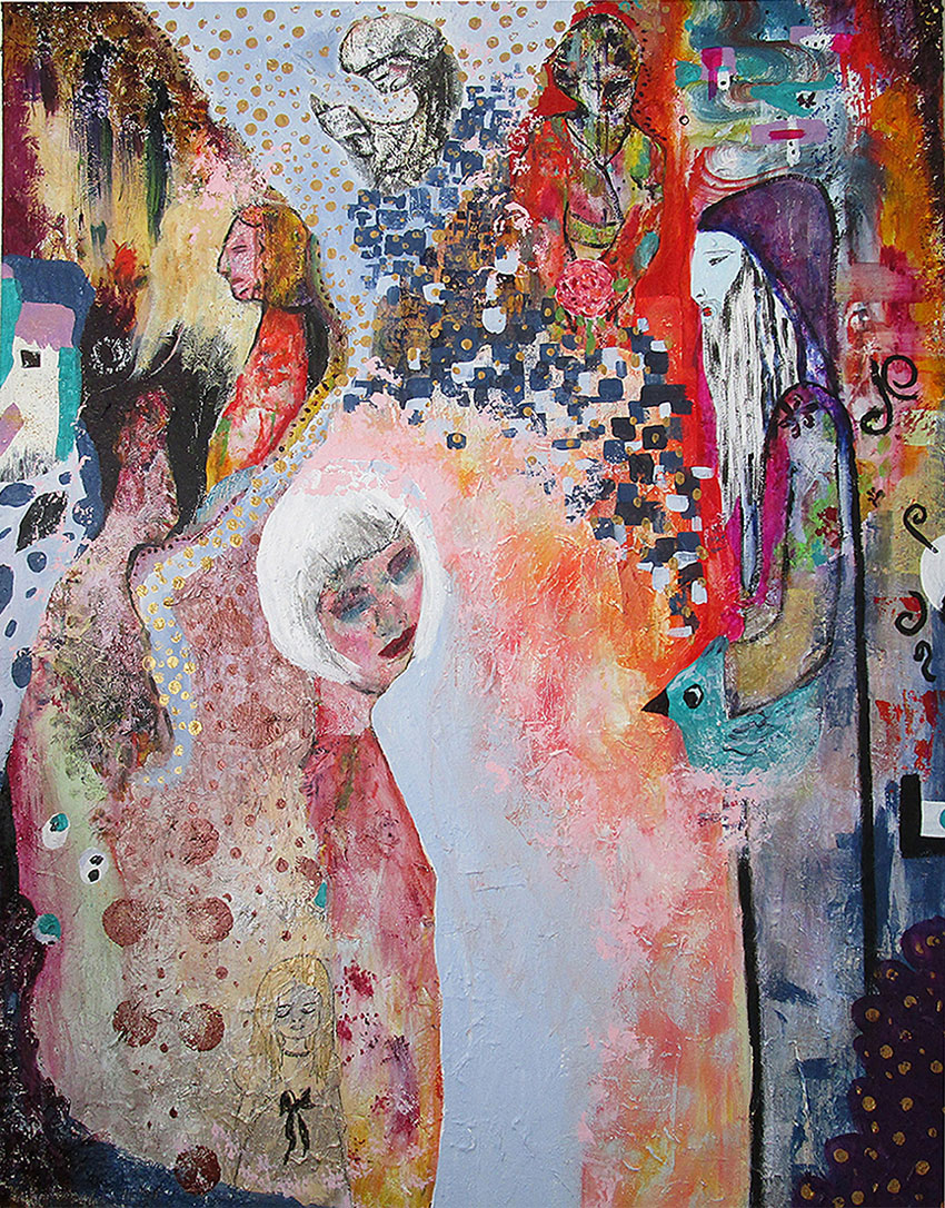 Andrea Willow - A Story Telling - Sasse Art Museum