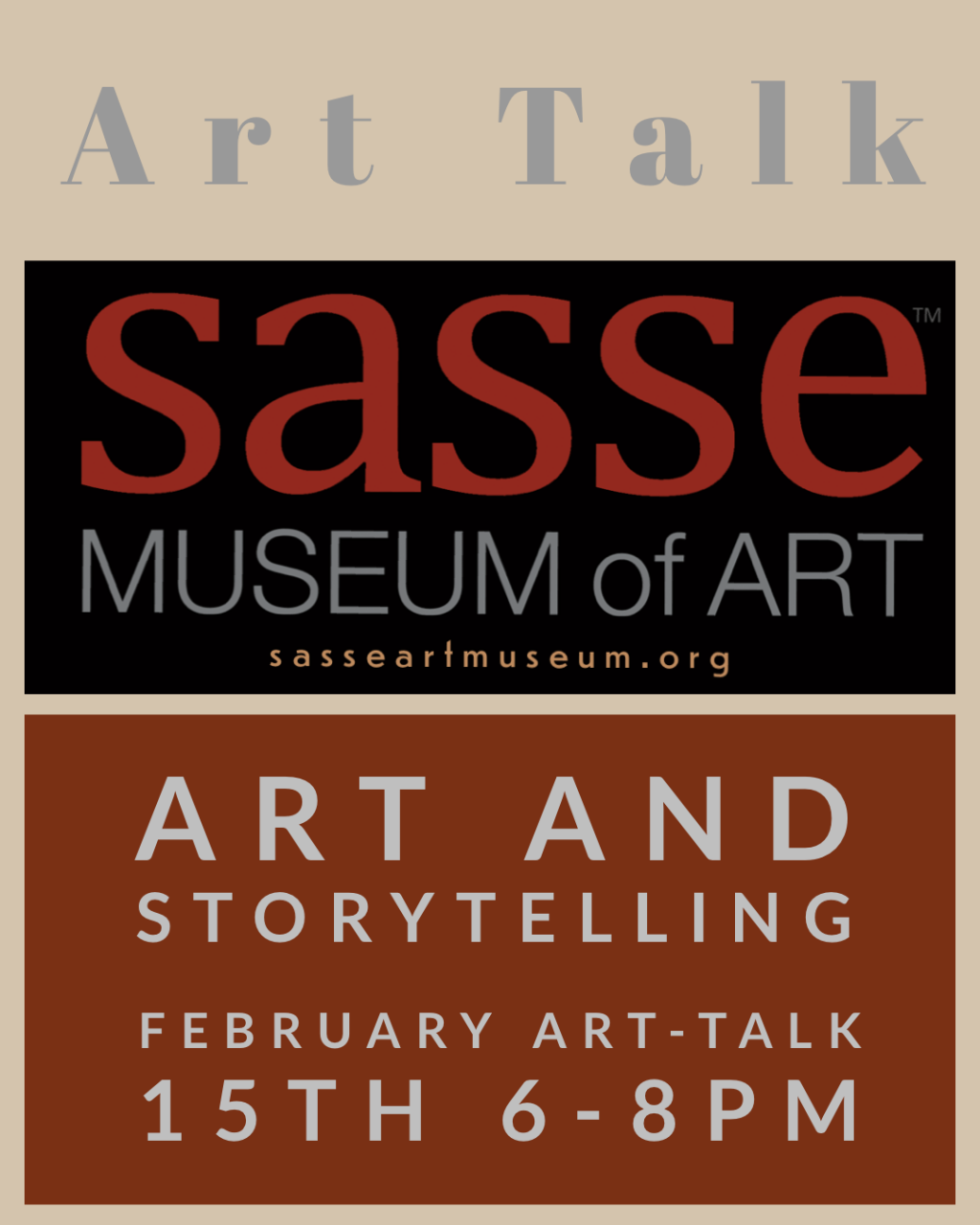 Sasse Museum of Art Feb 2020 Art Talk