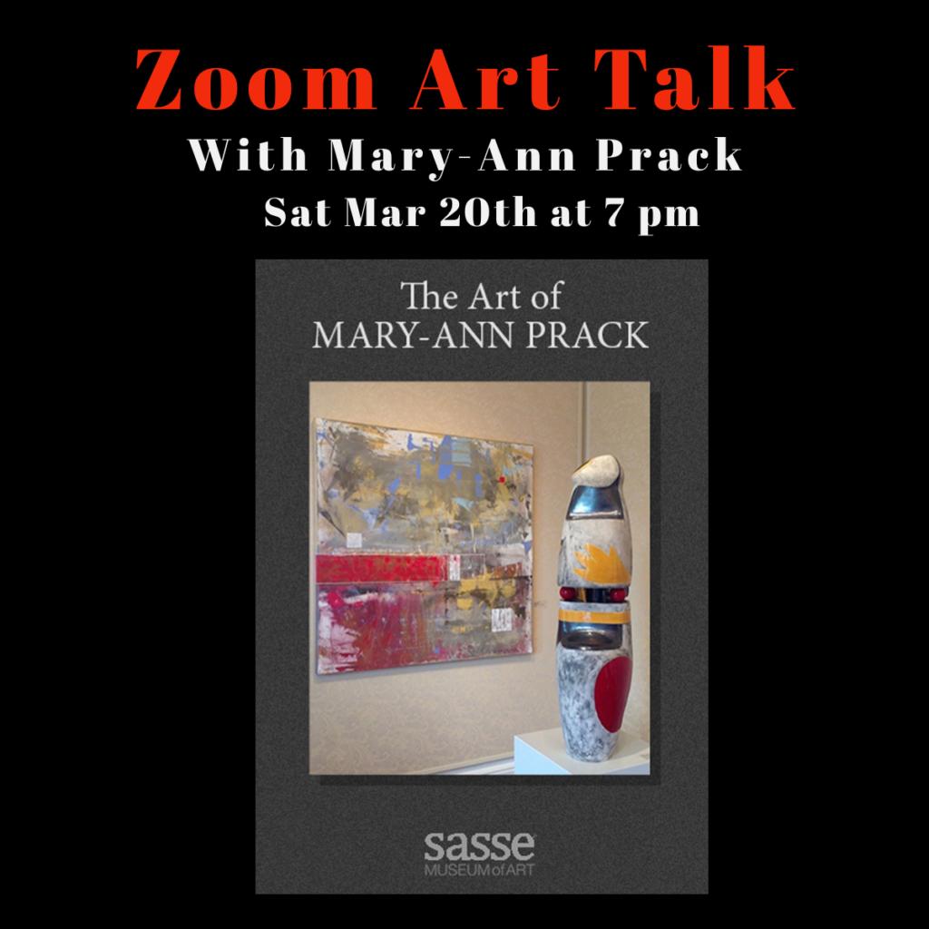 Zoom Art Talk with Mary Ann Prack